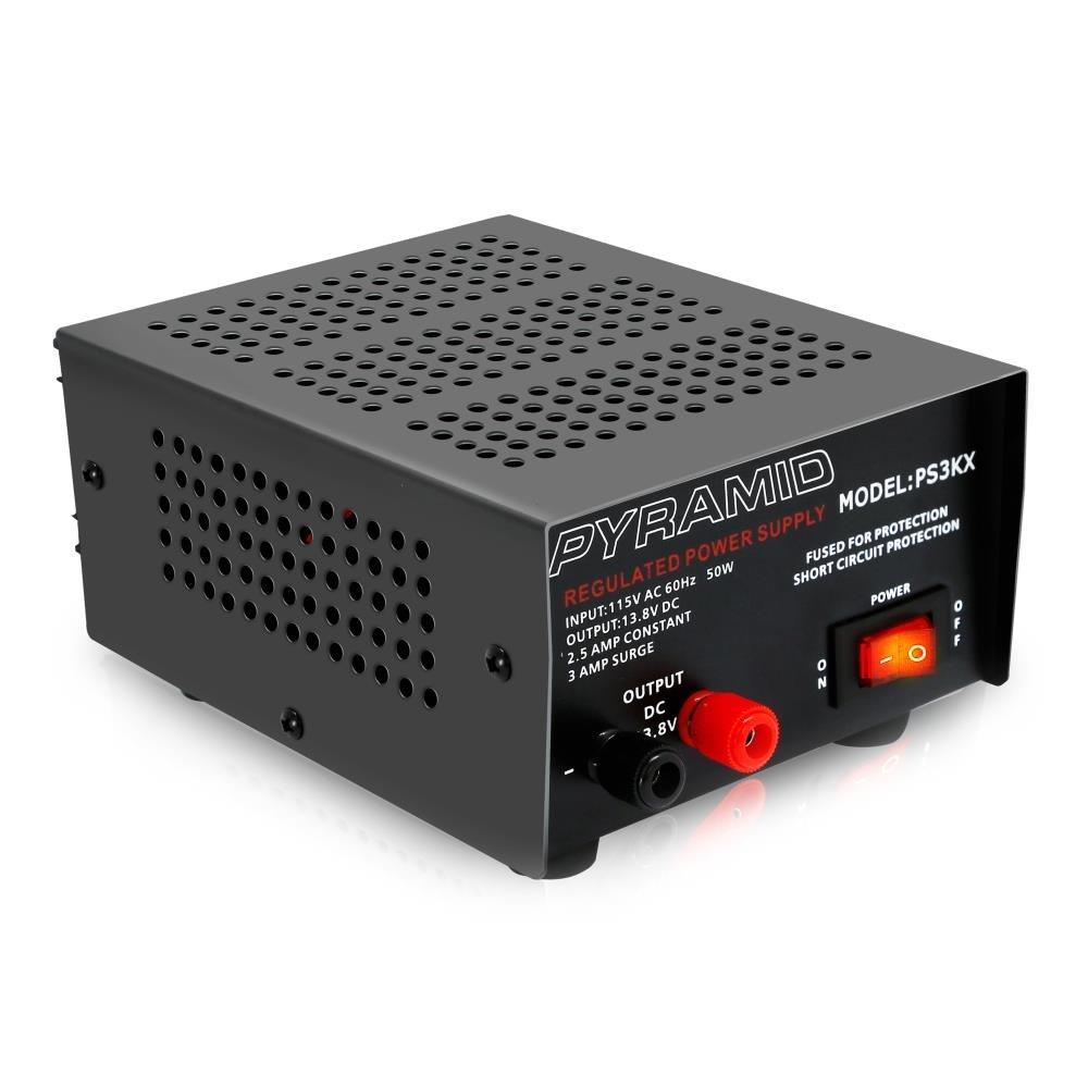 Pyramid 3-Amp 12-Volt Power Supply (PS3KX)