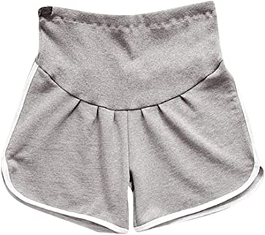 PinkLu Mujer premamá Pantalones Embarazada Pantalones de Tumor ...