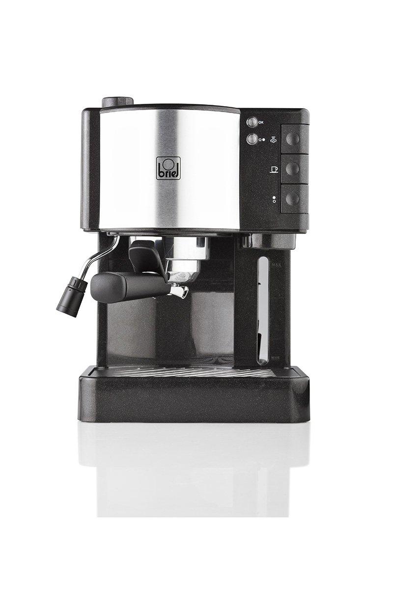 Briel ES35 Cafetera espresso 1260 W, 1.8 litros, Plástico, Negro