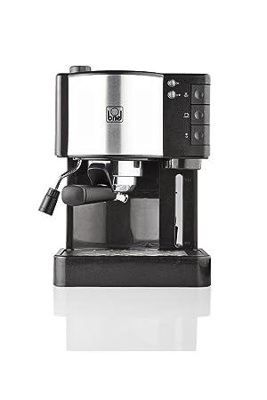 Briel ES35 Cafetera Espresso, 1260 W, 1.8 litros, Plástico, Negro