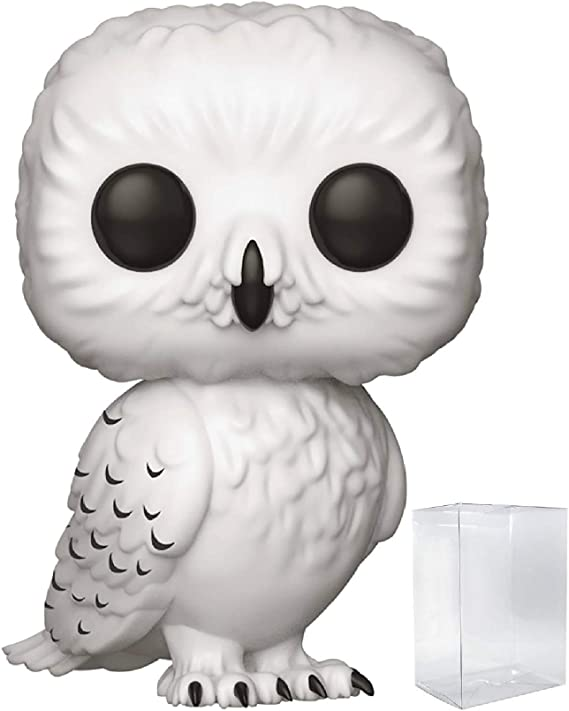 POP Harry Potter Harry Potter w// Golden Owl Brand New In Box Holiday Funko