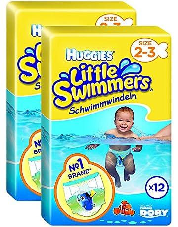 87e208798 Huggies Little Swimmers Standard Taille 2 3 (3-8 kg) x 12