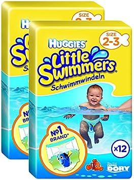 79adaf9f4b55 Huggies Little Swimmers - Pañales para nadar, talla 5/6 (12-18 kg), 11  unidades, pack de 2 x 11 uds. (Total 22 uds): Amazon.es: Salud y cuidado  personal