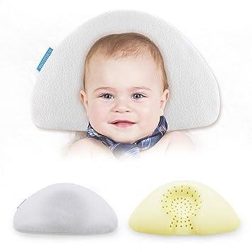 Amazon.com: Almohada plana con forma de cabeza y soporte ...