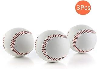 CZ-XING Haute qualité 22,9cm inch Faite à la Main Baseballs PVC Upper Intérieur en Caoutchouc Souple et Rigide Balles de Baseball Softball pour l'entraînement D'exercice