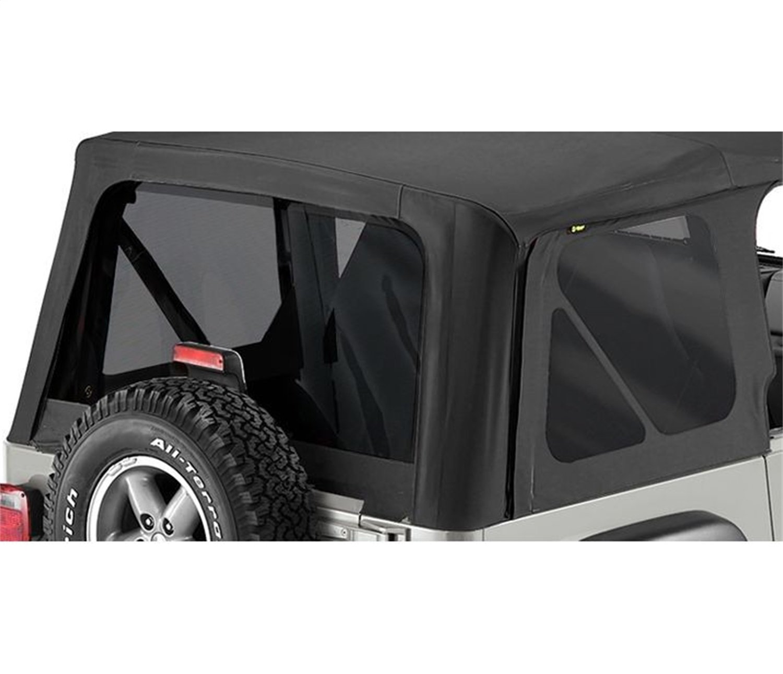 Bestop 58121-15 Black Denim Tinted Window Kit Replace-A-Top for 1997-2002 Wrangler