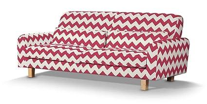 Dekoria Fire retarding IKEA Nikkala sofá funda - rojo/rosa ...