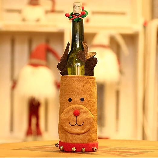 Fly stone 2018 Navidad Cubiertas de Botellas de Vino Vino Tinto ...