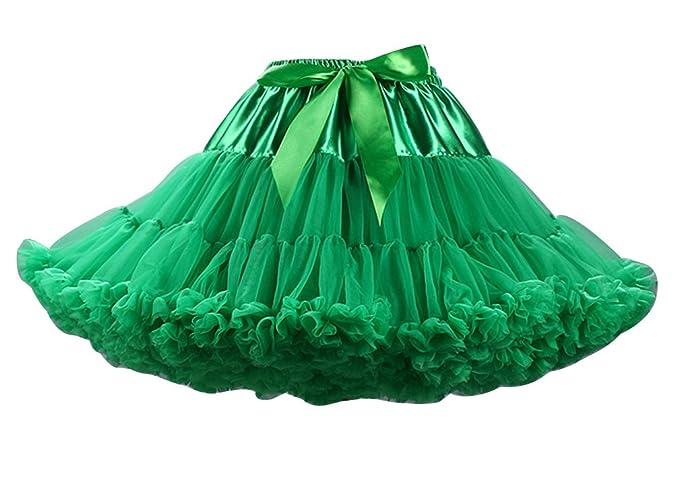 Faldas Tul de las mujeres falda plisada princesa del ballet de la ...