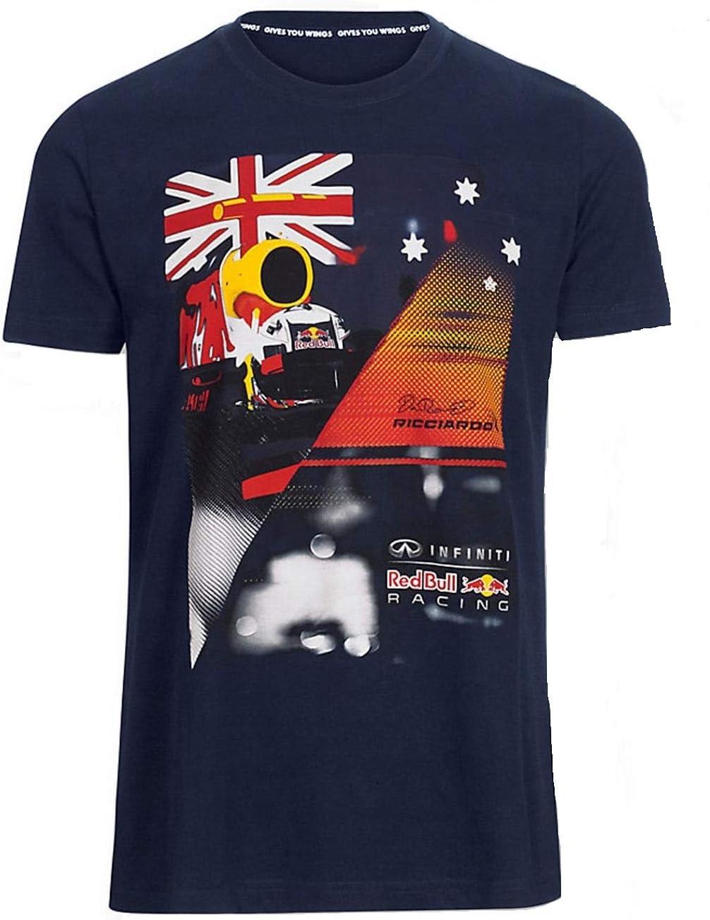 Camiseta para niños de Daniel Ricciardo con logo de Red Bull ...