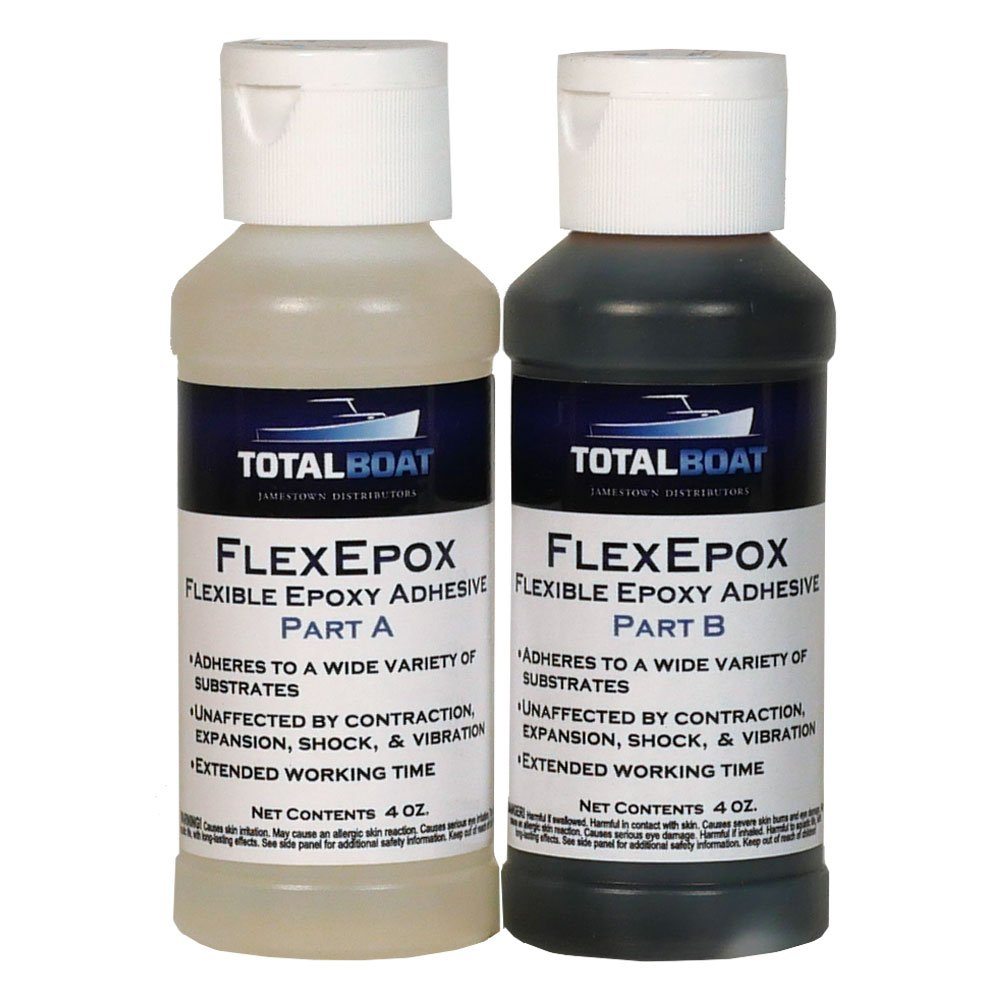 TotalBoat FlexEpox Flexible Epoxy Adhesive (8 Ounce) by TotalBoat (Image #1)