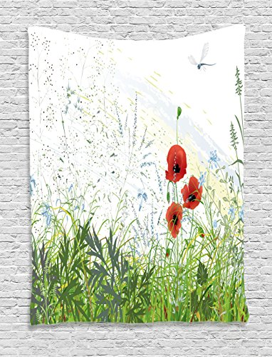 Tapestry Ambesonne Illustration Distressed Background