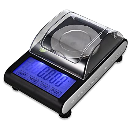 CN-Culture - Báscula electrónica Digital de Alta precisión para joyería (50 g,