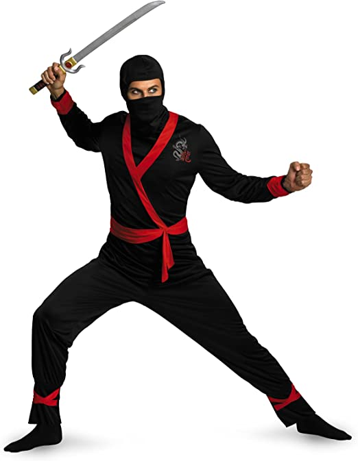 Disguise Mens Ninja Master Costume