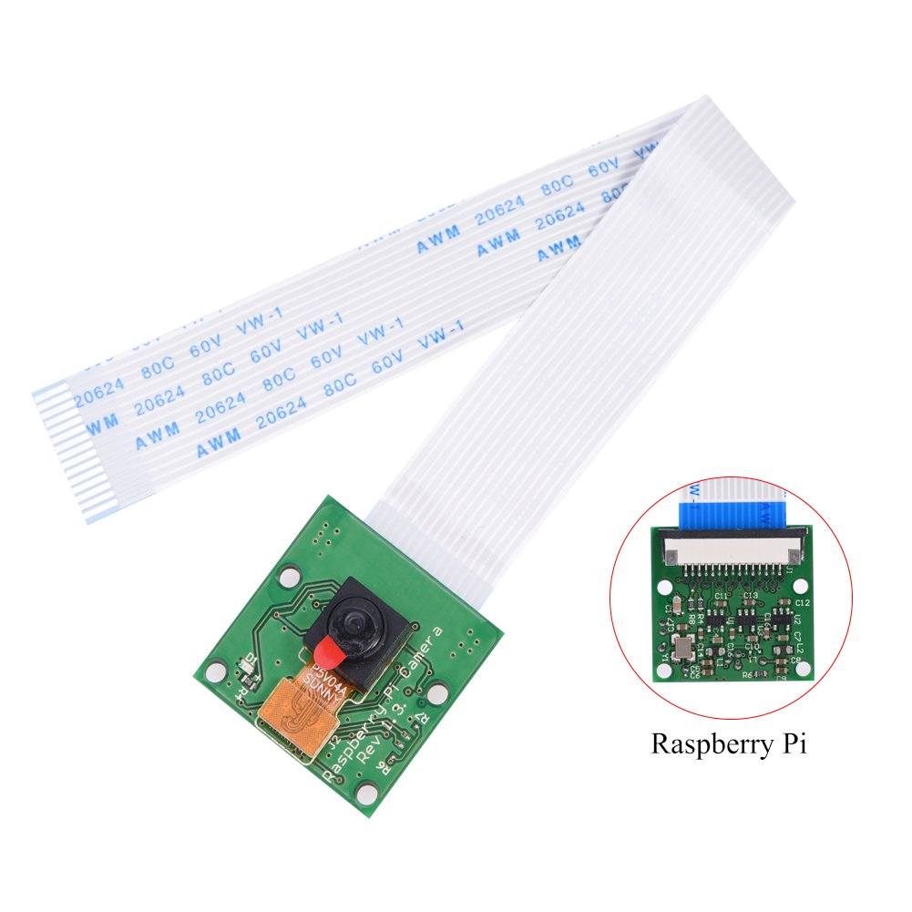 Huhushop(TM) Camera Module Board REV 1.3 5MP Webcam Video 1080p 720p Fast For Raspberry Pi