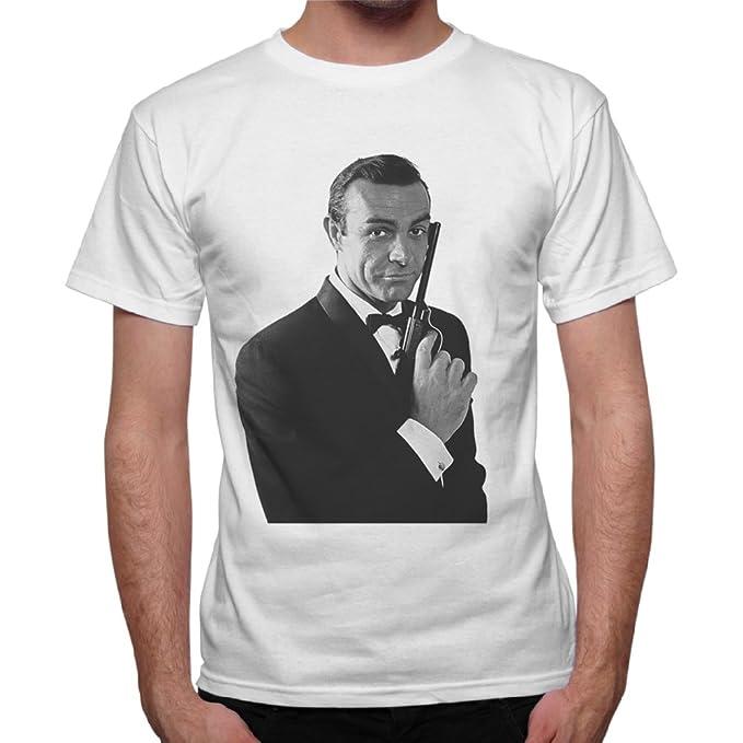 De Bond James 007Agente Sean Connery Secreto Hombre Camiseta kn0P8Ow