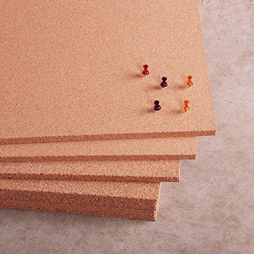 Natural Cork Sheet 4' x 8' x 3/8'' by Manton Cork