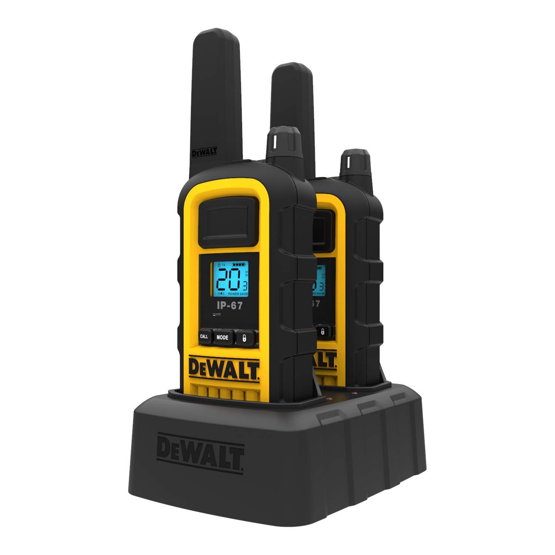 DeWALT DXFRS800 2W Walkie Talkies Heavy Duty Business Two-Way Radios (Pair) by DEWALT (Image #6)
