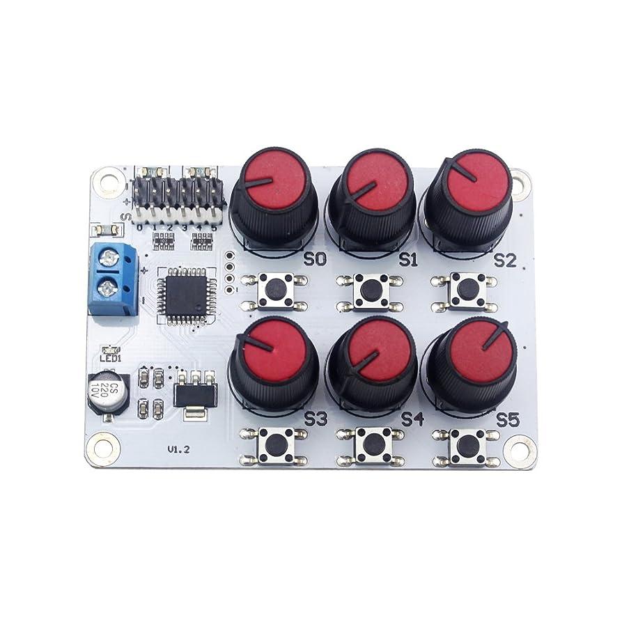 中断着替える手Hiwonder デジタルサーボテスターサーボコントローラ 電圧表示付き