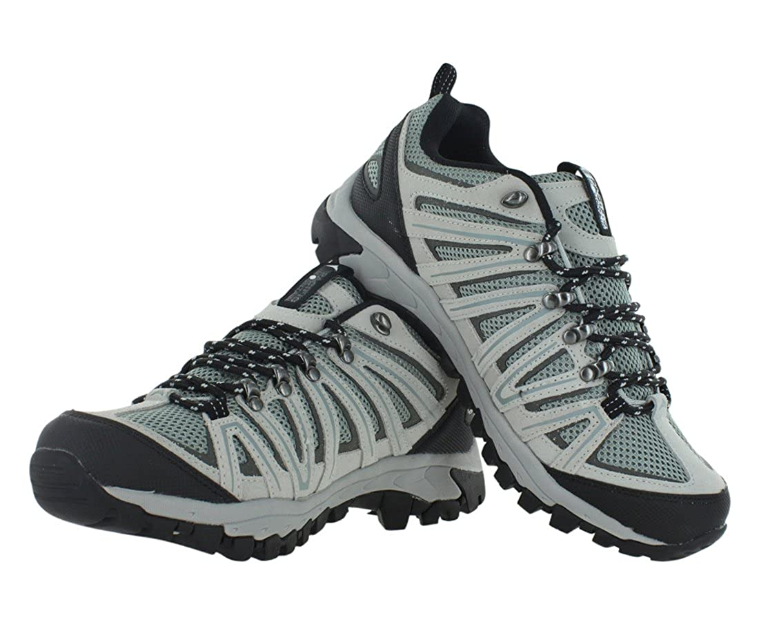 Pacific Mountain Ravine Mens Hiking Backpacking Low-Cut Black//Grey Boots Size 12