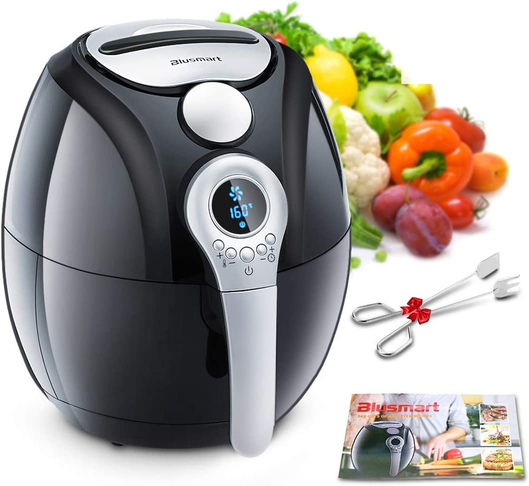 Air Fryer, Blusmart Electric Air Fryer