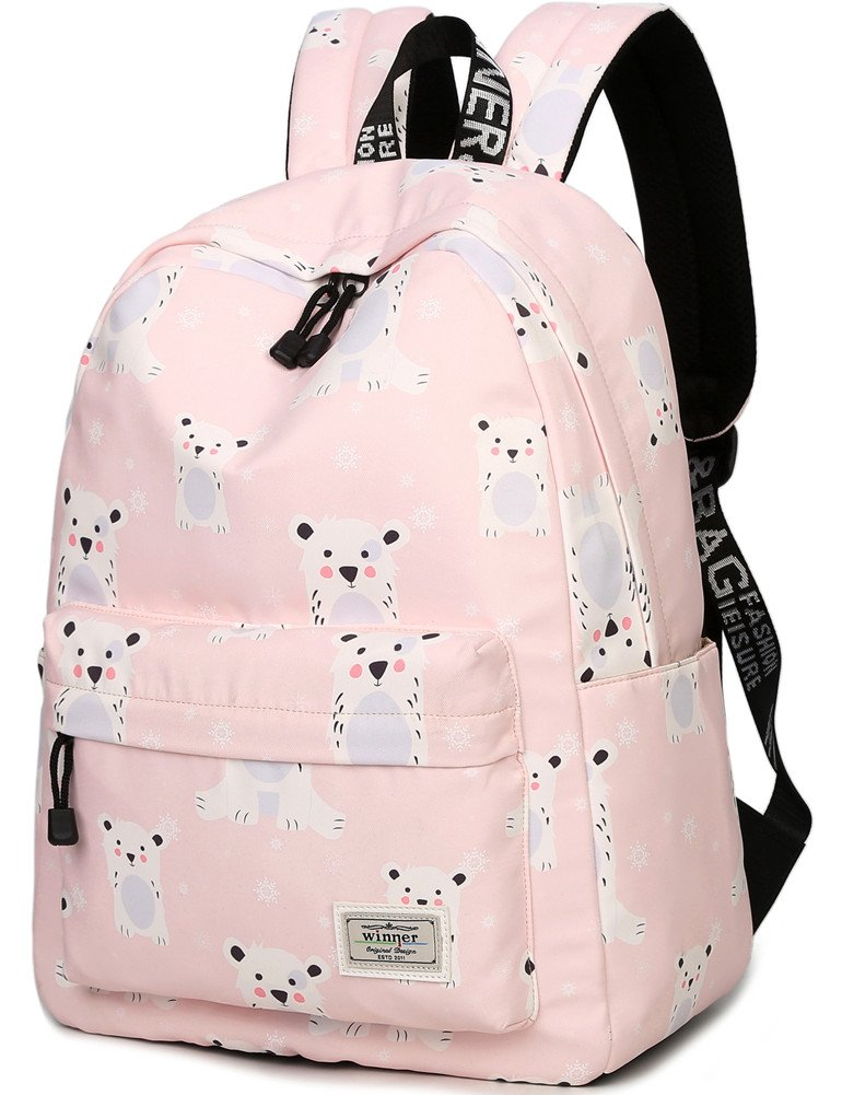 012917038eb Bookbag for Teens, BLOOMSTAR Water Resistant Cool Dog Print School Backpack  Laptop Bag Travel Rucksack