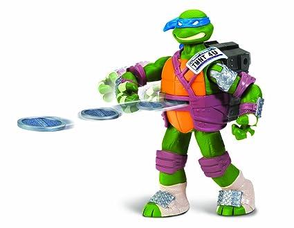 Amazon.com: Teenage Mutant Ninja Turtles Flinger Leo figura ...