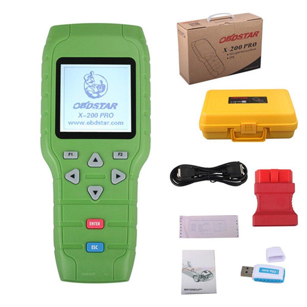 lhztech Original obdstar X-200 X200 Pro a + B configuración para aceite reset + Software De DAB + EPB: Amazon.es: Coche y moto