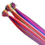 Beautywin 18'' Mixed colors Women Long Cosplay