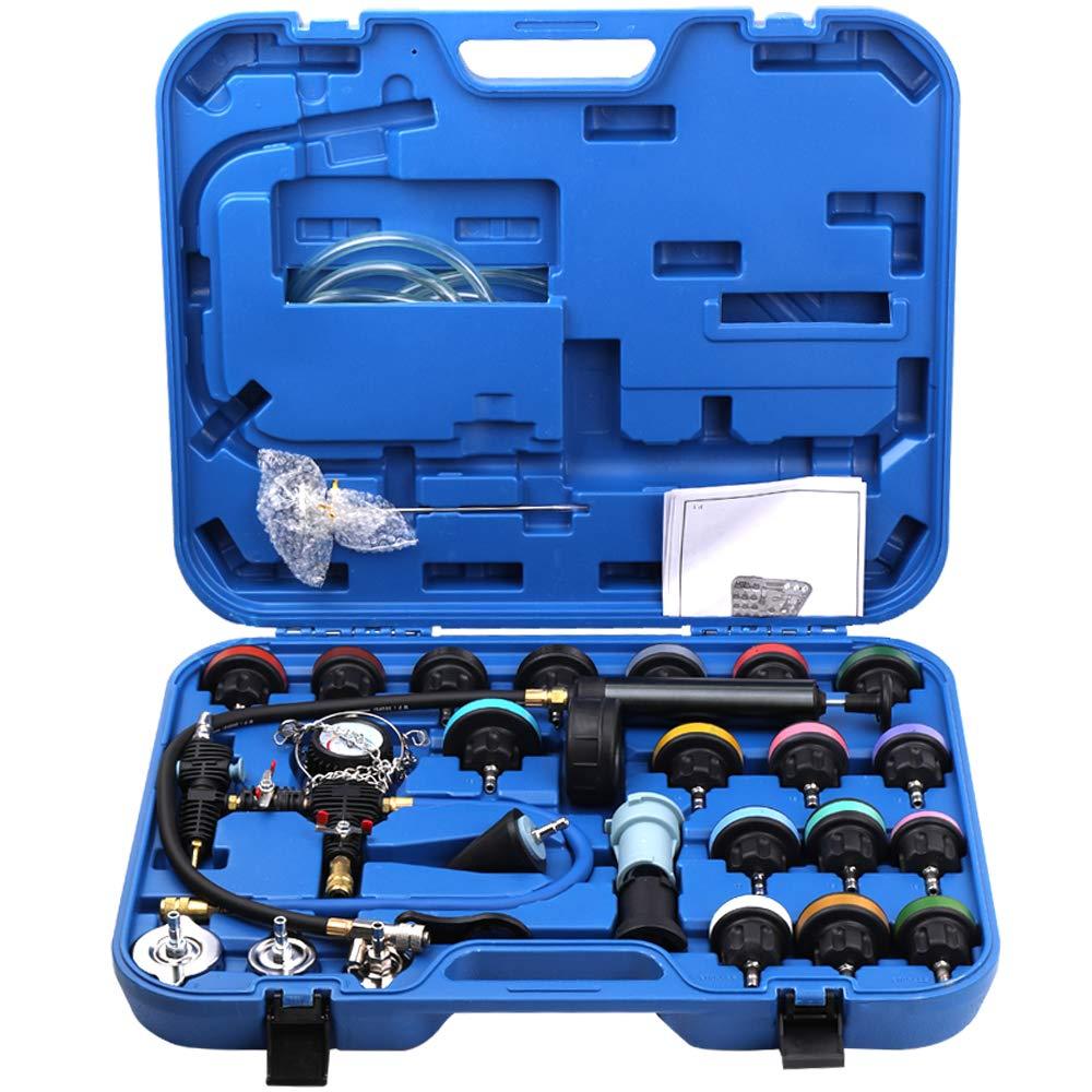 Docooler 28pcs Universal Radiator Pressure Tester Vacuum Type Cooling System Test Detector Kits by Docooler1 (Image #3)