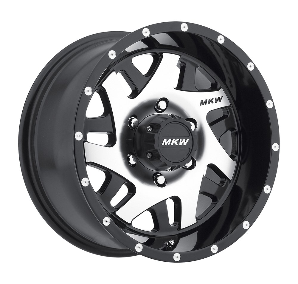 MKW Offroad M91 Wheel with Satin Black Finish (20x9'/8x165mm) M91-2090816510BB
