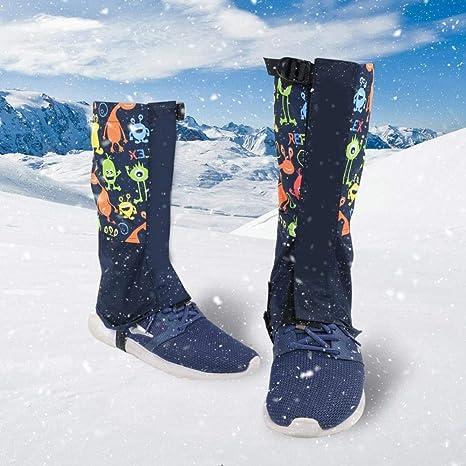 Alomejor 1 Paar Kinder Schnee Gamaschen Outdoor Sports Schuh