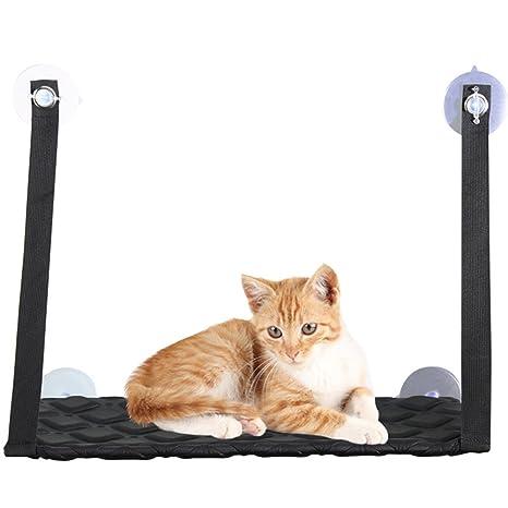 Hamaca de perca para ventana de gato para gatos, con doble ...