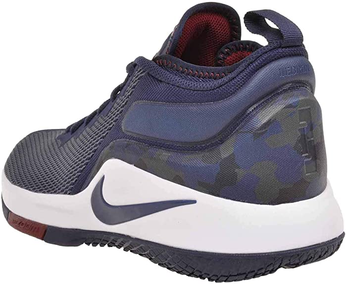 shoes for cheap buy good new styles Nike - Lebron Witness II - 942518406 - Couleur: Blanc-Bleu Marine ...