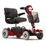 Sterling Sapphire 2 Travel Mobility Scooter - 19 Miles Range and disassembles (Red)