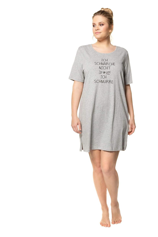 Ulla Popken Longshirt, Schnurren, Große Größen Camiseta para Mujer