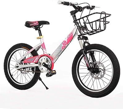 MYMGG Bicicleta Infantil 18 Pulgadas Doble Freno De Disco ...