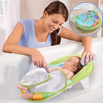Lvbeis BebÉ Asiento Baño Seguridad Antideslizante Plegable Bañera ...