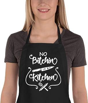 Amazon.com: Delantal de cocina Shock Funny para hombres y ...