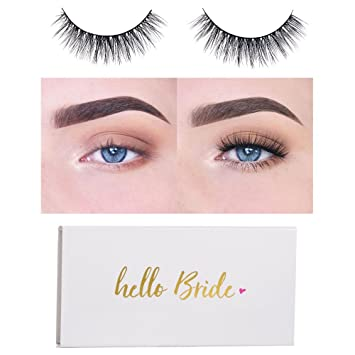 9393fdb24c1 Amazon.com : Icona Lashes Reusable Handmade Cruelty Free Love Story False  Eyelashes, Bridal Packaging : Beauty
