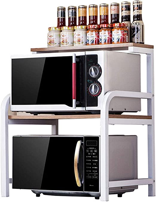 Rejilla de horno de microondas de 3 niveles, soporte de microondas ...