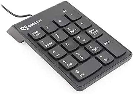 Sbox nk-106 Teclado numérico para pc.: Amazon.es: Informática