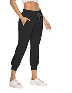 purchase genuine better new release Womens 3/4 Jogging Bottoms Ladies Cropped Gym Joggers Plain ...