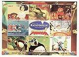 Benin 2008 Ratatouille & Kung Fu Panda on Stamps 9 Stamp Sheet 2B-148