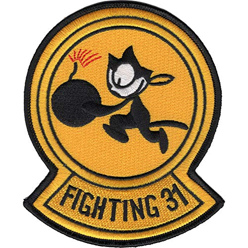 Usn Fighter - VF-31 VFA-31 Fighter Squadron Tomcatters Patch