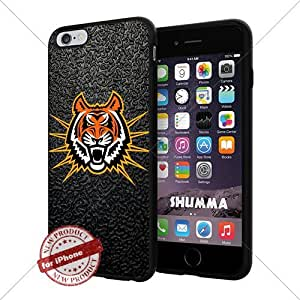 "NCAA Idaho State Bengals Cool iPhone 6 Plus (6+ , 5.5"") Smartphone Case Cover Collector iphone TPU Rubber Case Black"