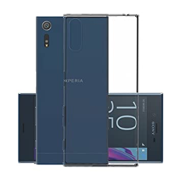 Funda Sony Xperia XZ, CANWN Suave Carcasa Gel Xperia XZ Ultra Transparente Silicona Funda para Xperia XZ