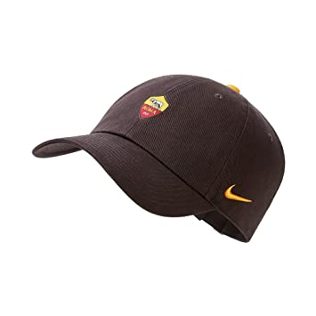 fab10a2a7aac64 Nike 2018-2019 Roma H86 Core Cap (Brown): Amazon.co.uk: Sports & Outdoors