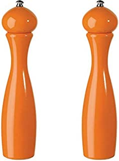 product image for Fletchers' Mill Marsala Collection Salt & Pepper Mill, Orange - 12 Inch, Adjustable Coarseness Fine to Coarse, MADE IN U.S.A.