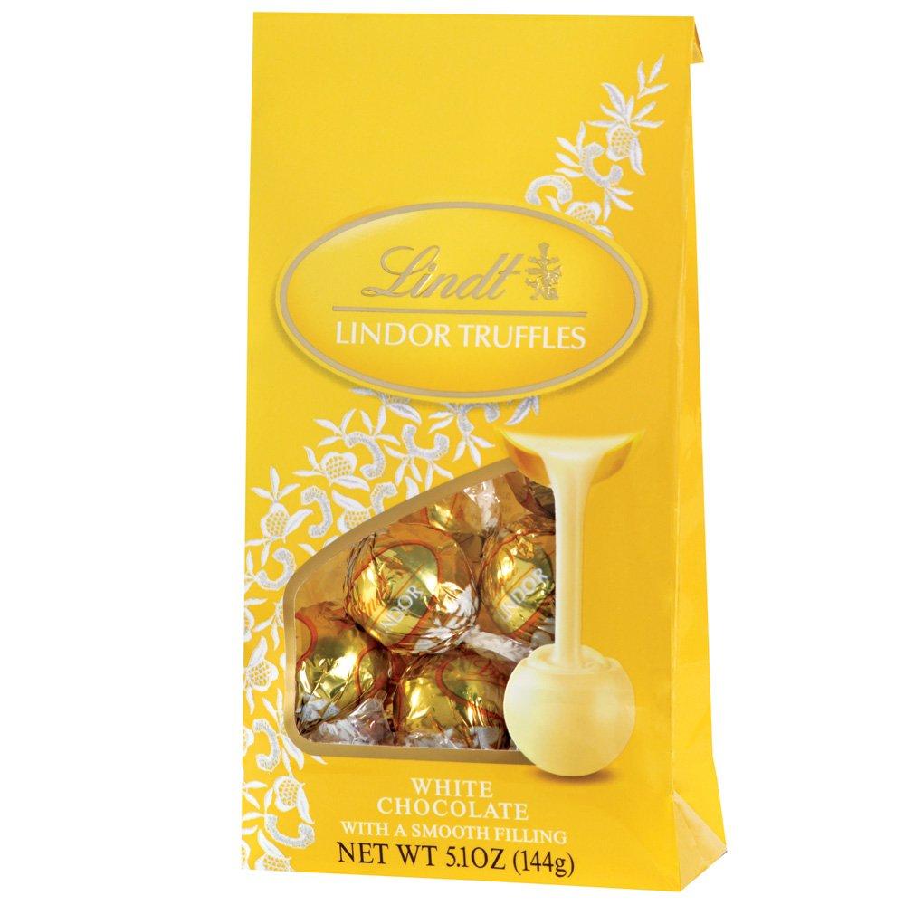 Amazon.com : Lindt LINDOR White Chocolate Truffles, 5.1 Ounce ...